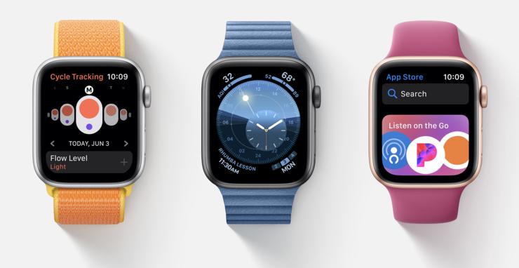 watchOS 6 tuo uusia sovelluksia, kellotauluja ja App Storen.