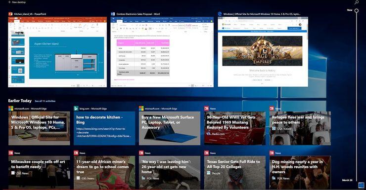 Windows 10:n aikajananäkymä saattaa pian olla käytettävissä myös Chromebookeilla.