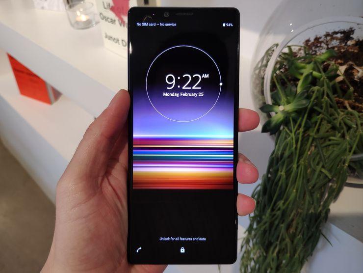 Sonyn uusi huippupuhelin Xperia 1 julki – kohokohtana 21:9