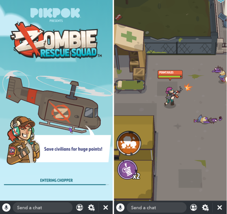 Zombie Rescue Squad.