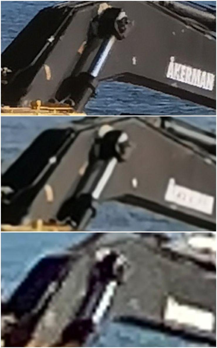 10x zoom -kuvista rajattu. Ylhäältä alas Huawei P40 Pro+, Huawei P30 Pro ja Apple iPhone 11 Pro Max.