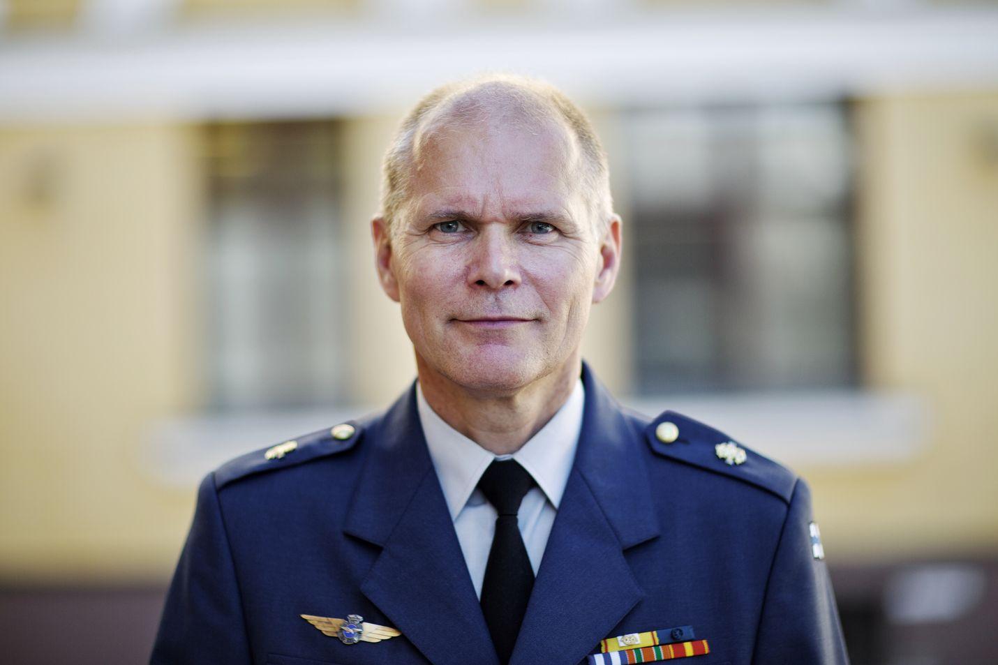 Lännen Media ei ole tavoittanut torstaina komentaja Jarmo Lindbergiä haastatteluun. Arkistokuva.