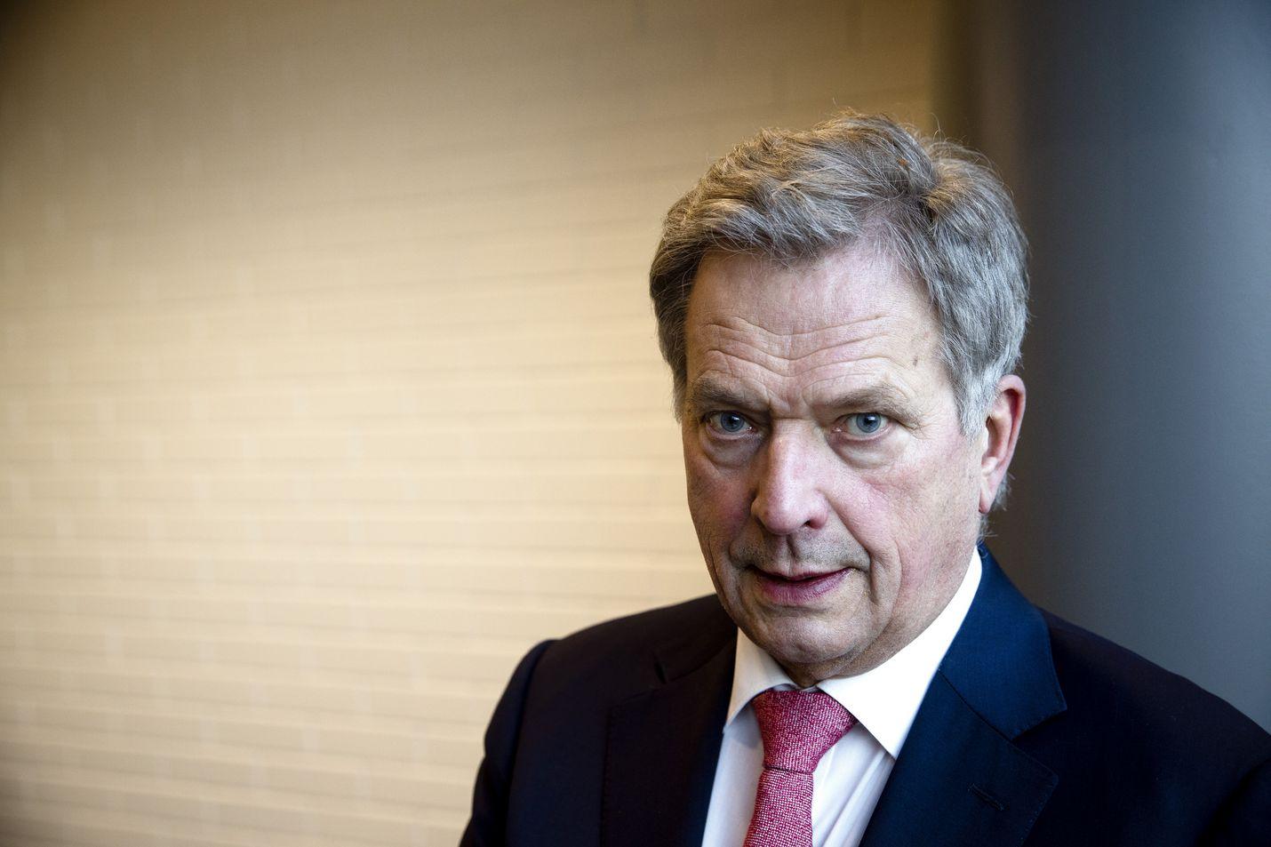 Presidentti Sauli Niinistö aroistakin asioista tarvitaan avointa ja asiallista keskustelua.