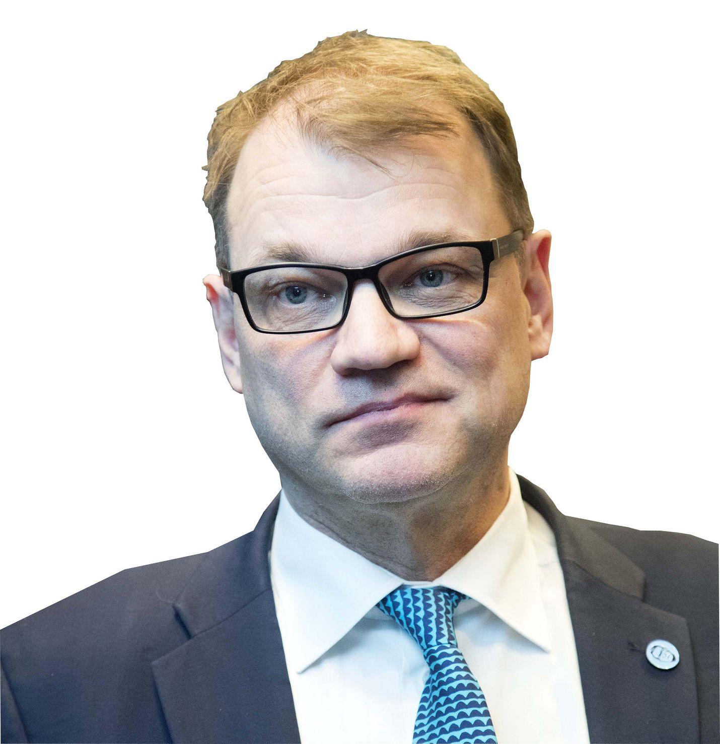 Pääministeri Juha Sipilä (kesk.) vakuutti, että nettipoliisitoimintaa tullaan lisäämään.