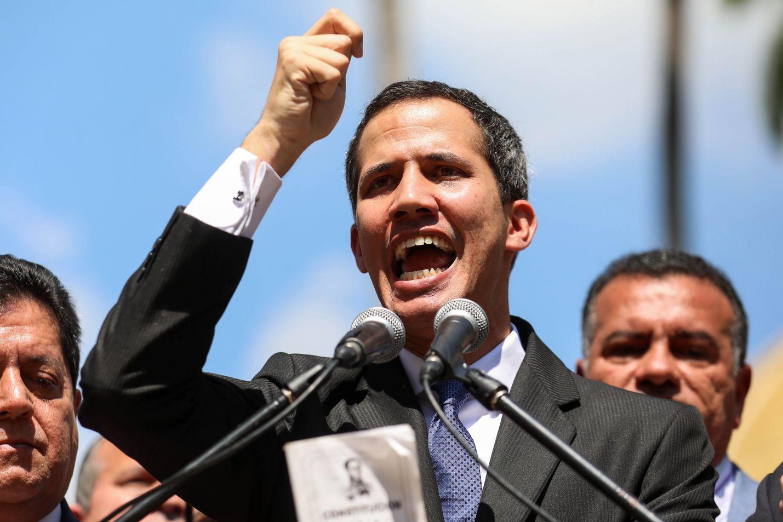 Juan Guaido julistautui Venezuelan presidentiksi keskiviikkona.