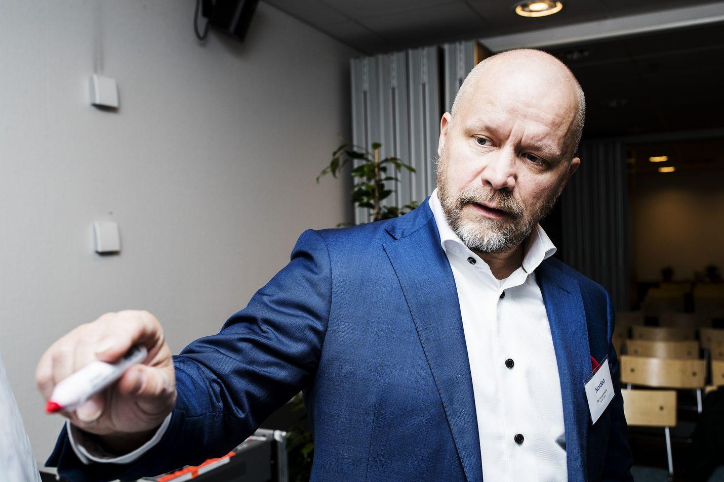Nordean Aki Kangasharju on ollut viime vuoden Suomen näkyvimpiä ekonomisteja.