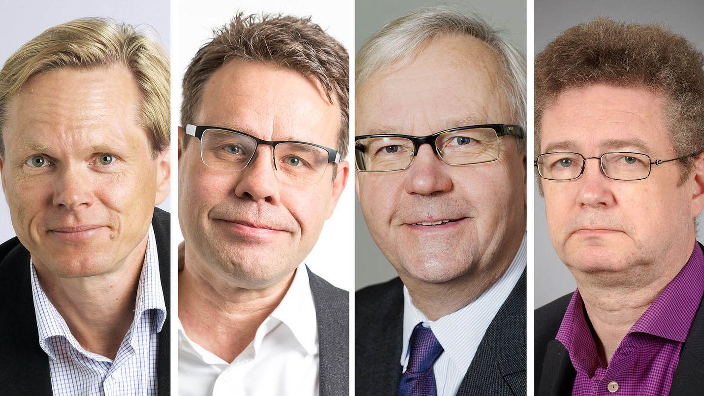 Tuomas Ojasella (vas.) oli kesäkuuhun 2018 mennessä tällä hallituskaudella 71 lausuntoa eri lakeja varten, Juha Lavapurolla 67 lausuntoa, Olli Mäenpäällä 60 lausuntoa ja Veli-Pekka Viljasella 54 lausuntoa.
