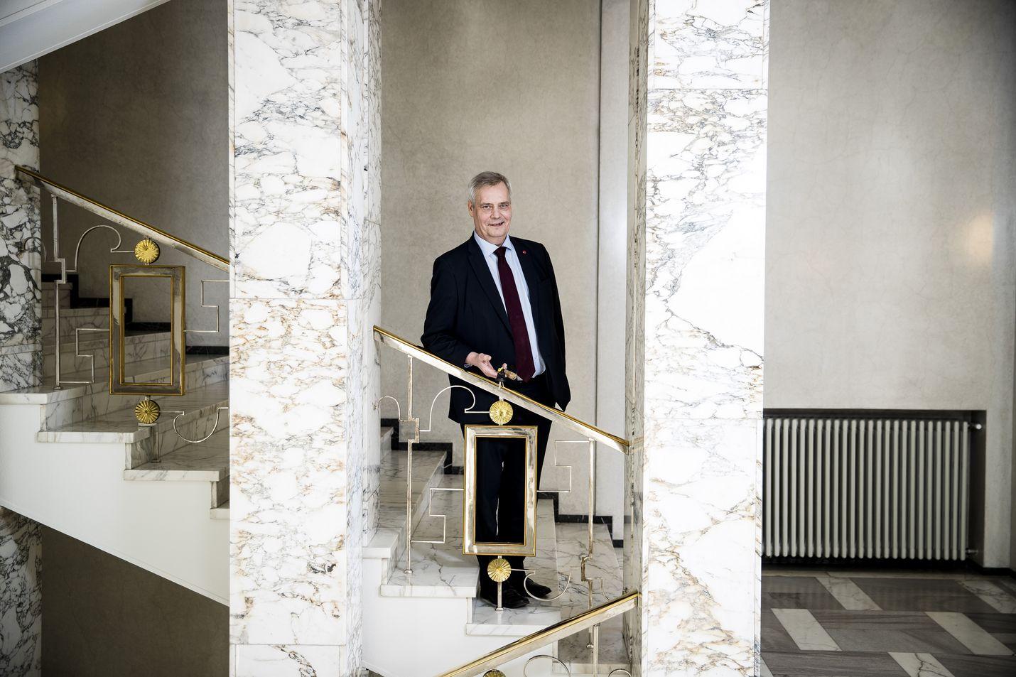 Antti Rinne haluaa pitää kiinni tulevaisuusinvestoinneista ja eriarvoistumiskehityksen kääntämisestä toiseen suuntaan.
