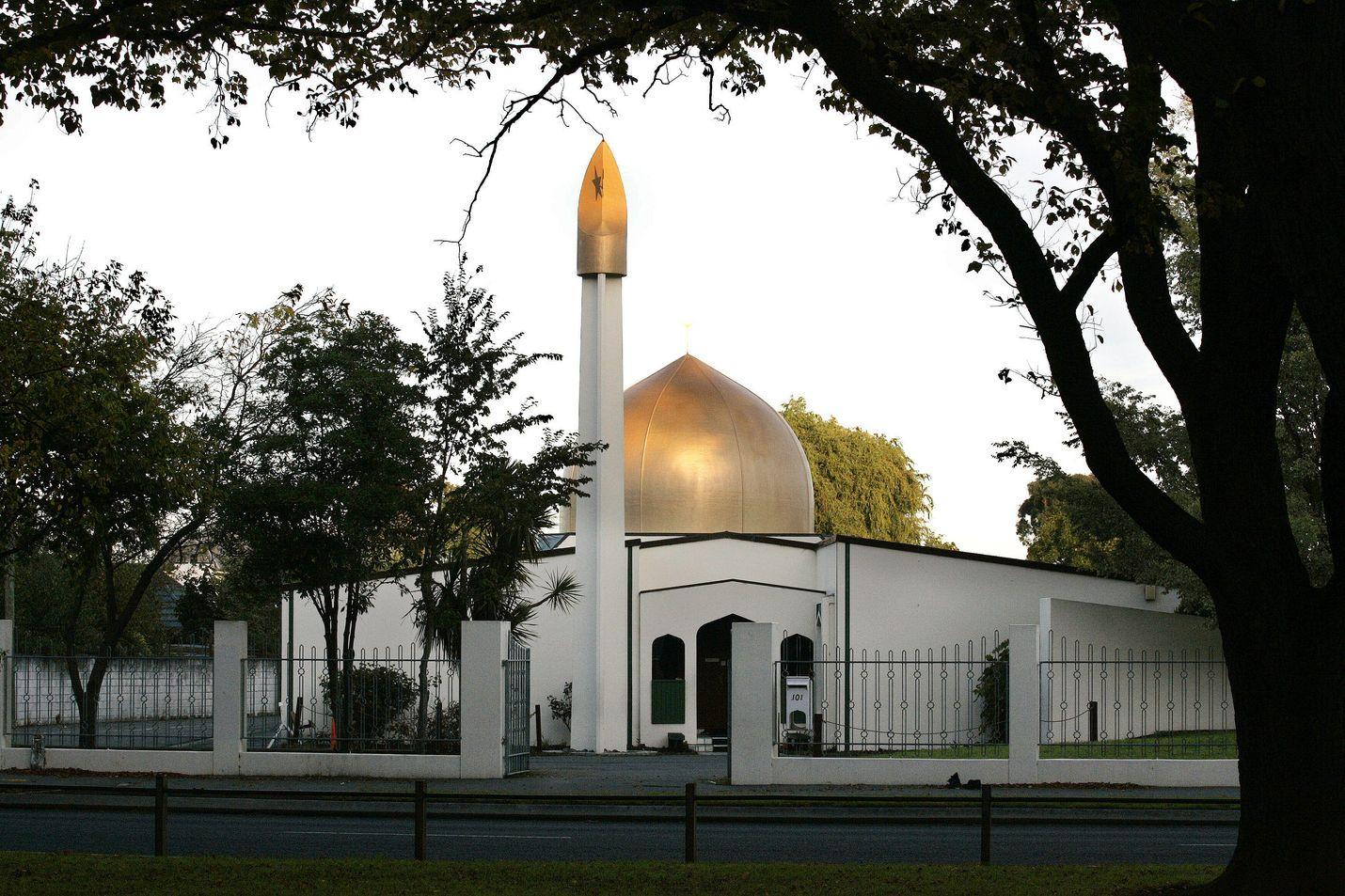 Al Noorin moskeija oli toinen kohde, jonne ampujat tekivät iskun perjantaina Christchurchissa Uudessa-Seelannissa. Kuva on arkistokuva.