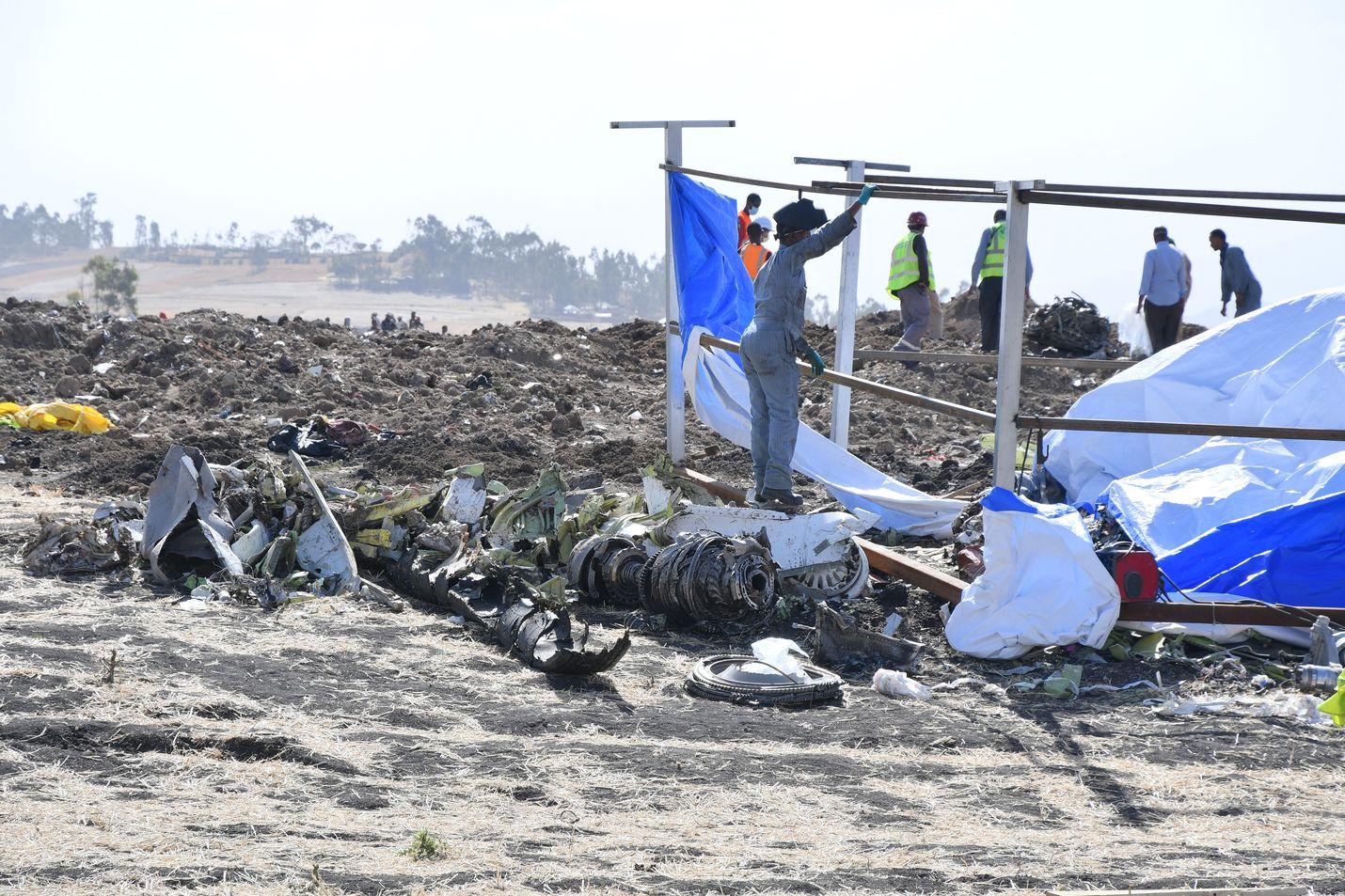 Ethiopian Airlinesin lentoturma sattui sunnuntaina Etiopiassa pian lentoonlähdön jälkeen.