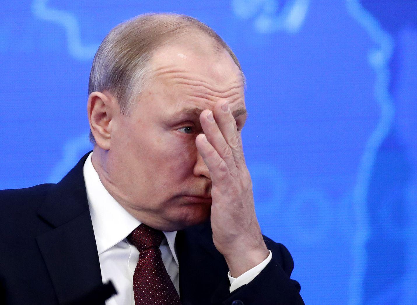 Venäläisten luottamus Putinia kohtaan oli huipussaan vuonna 2015, jolloin presidenttiin luotti peräti 80 prosenttia kansasta.