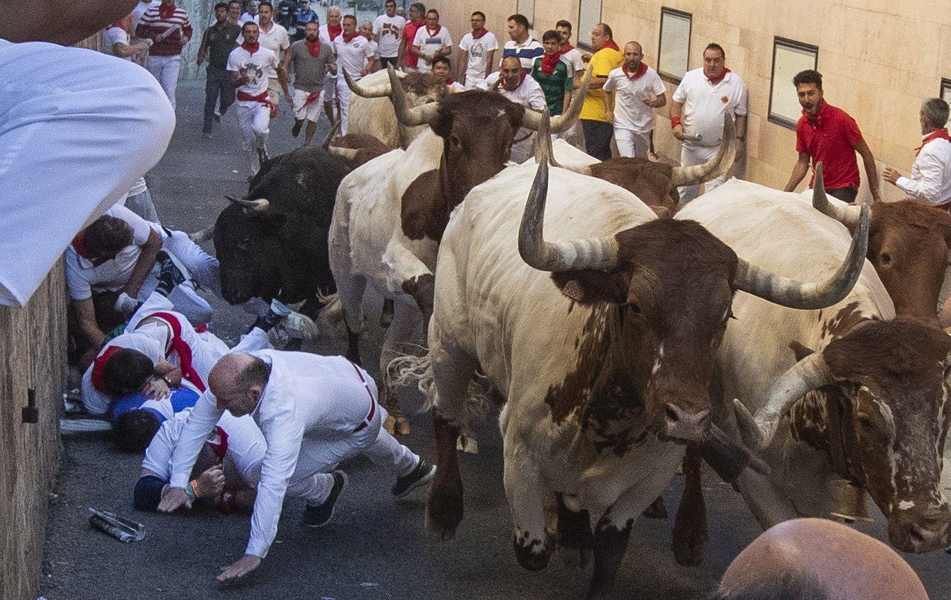 Keskiajalta peräisin oleva härkäjuoksu on osa Espanjan härkätaisteluperinnettä. Härkätaisteluja on kritisoitu laajasti maailmalla. Myöskään Espanjassa niiden suosio ei ole takavuosien tasolla.