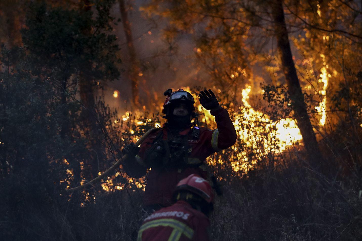 Maastopalojen sammutustöissä on lähes 1 200 palomiestä ja yli 350 paloautoa.