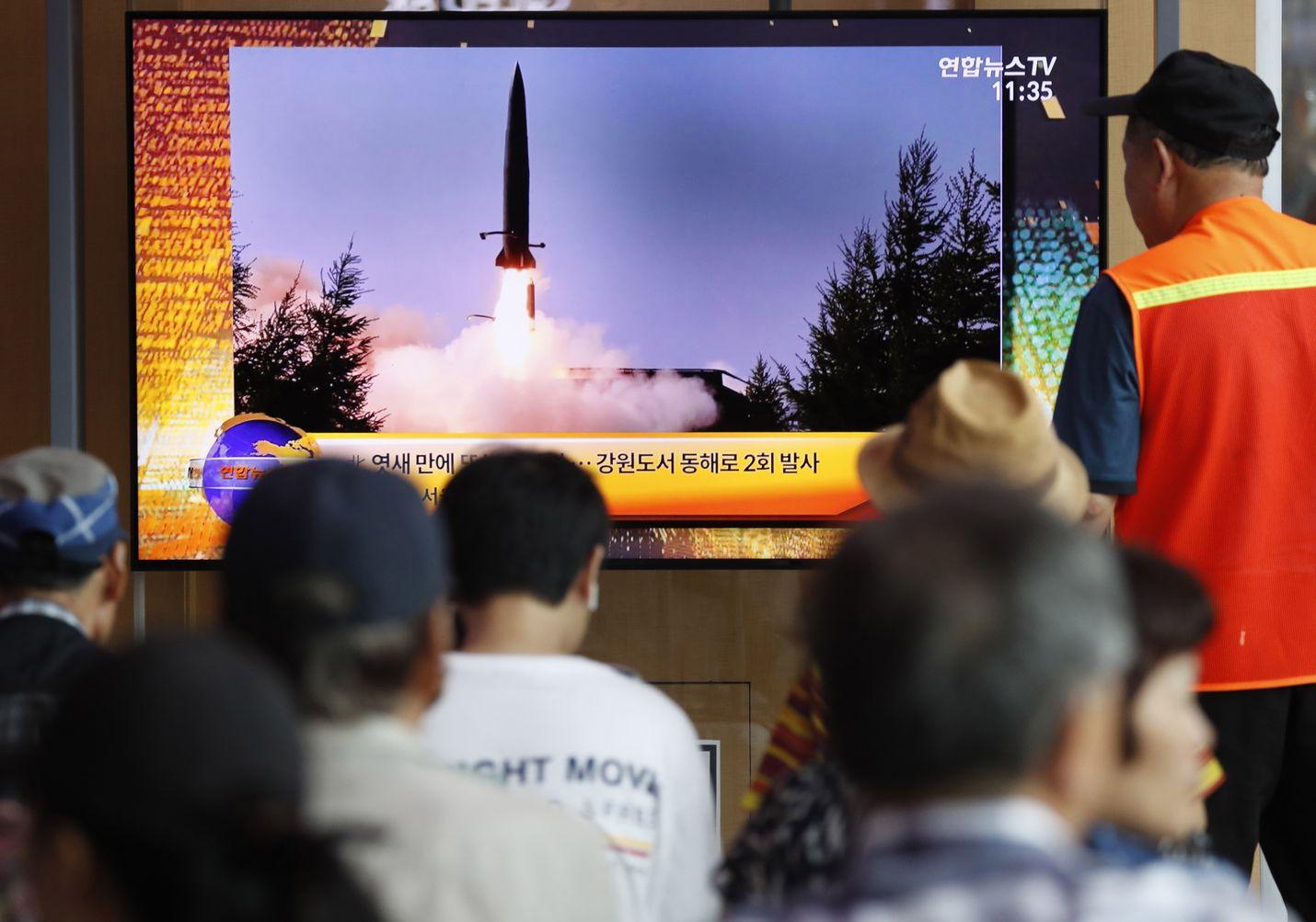 Eteläkorealaisille pohjoisnaapurin sotilaallinen uhittelu on uutislähetyksissä tullut tutuksi. Perjantaina Pohjois-Korea ampui jälleen ohjuksia mereen.