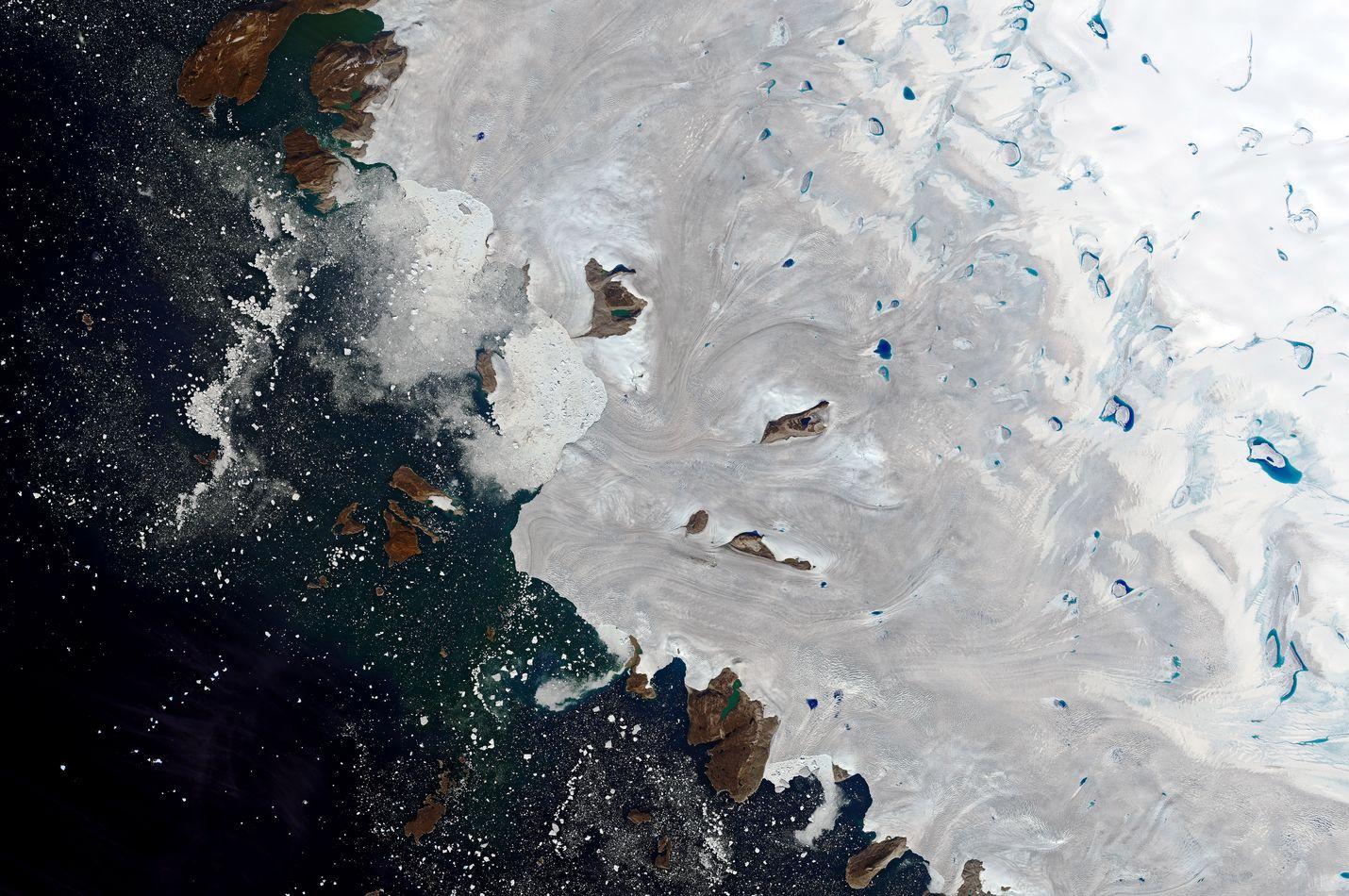 Grönlanti ei tiettävästi ole myynnissä, vaikka Trump ostoa suunnitteleekin. Sen sijaan saari on kesän aikana ollut uutisissa, koska sen jäätiköt ovat sulaneet ennätysvauhdilla.