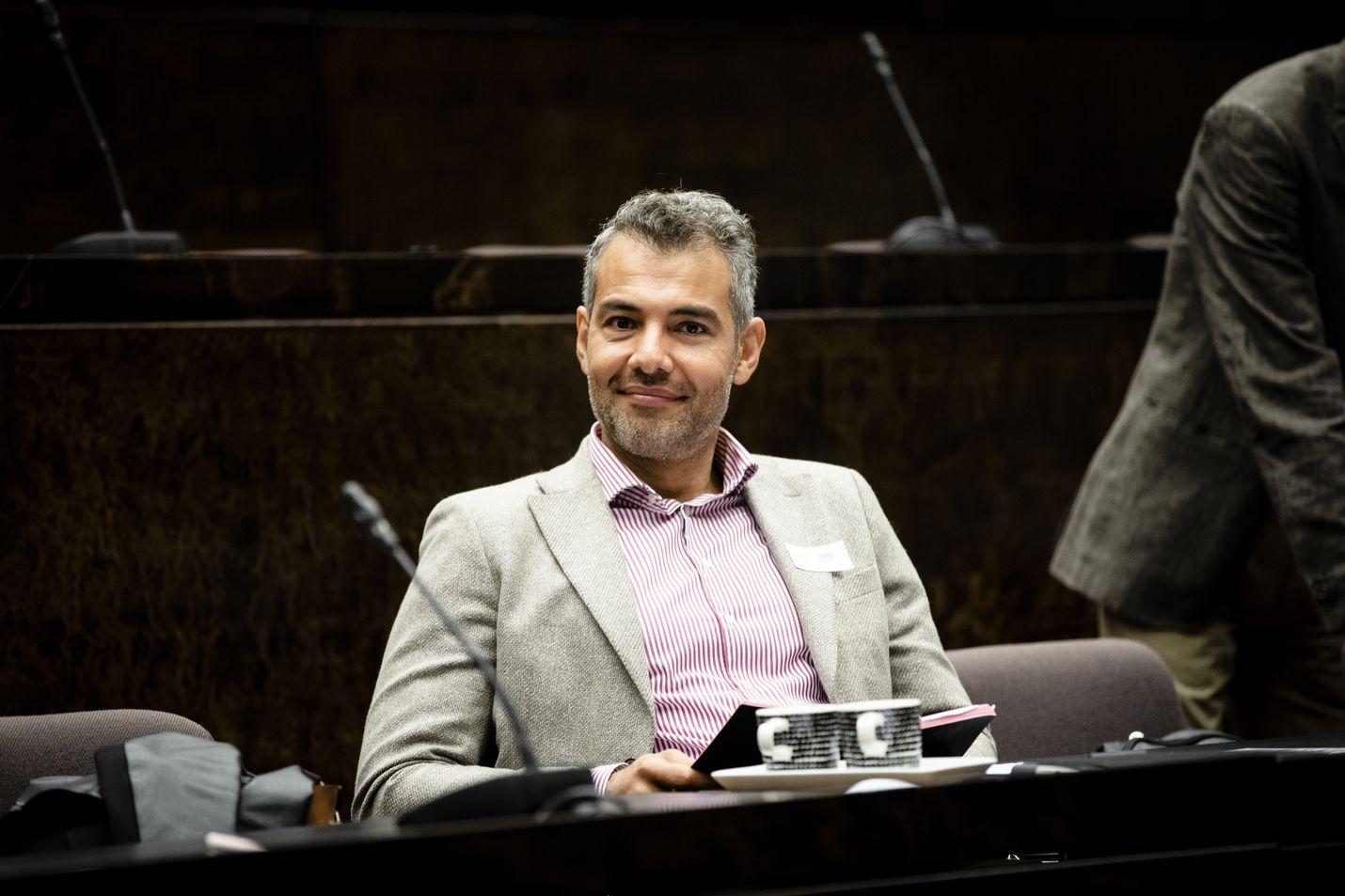 Sdp:n kansanedustaja Hussein al-Taee.