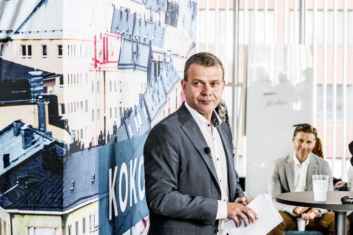 Petteri Orpo sanoi kokoomuksen kesäkokouksessa, että jos Ruotsi, Tanska ja Norja pystyvät lisäämään työpaikkoja, miksi Suomi ei pystyisi.