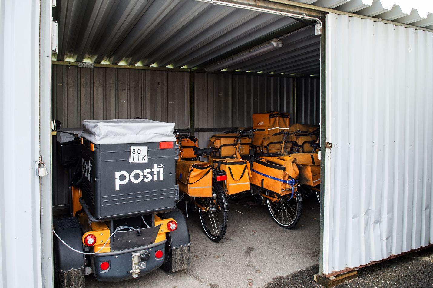 Jaettavan postin määrä on vähentynyt tuntuvasti viime vuosina, mikä on aiheuttanut loven Postin tulokseen.