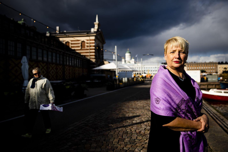 Huoltosuhteen heikkeneminen nostaa synkkiä pilviä suomalaisten taivaalle. Ikääntyvä väestö tarvitsee lisää hoivapalveluja, tietää hyvinvointialan Halin toimitusjohtaja Ulla-Maija Rajakangas.