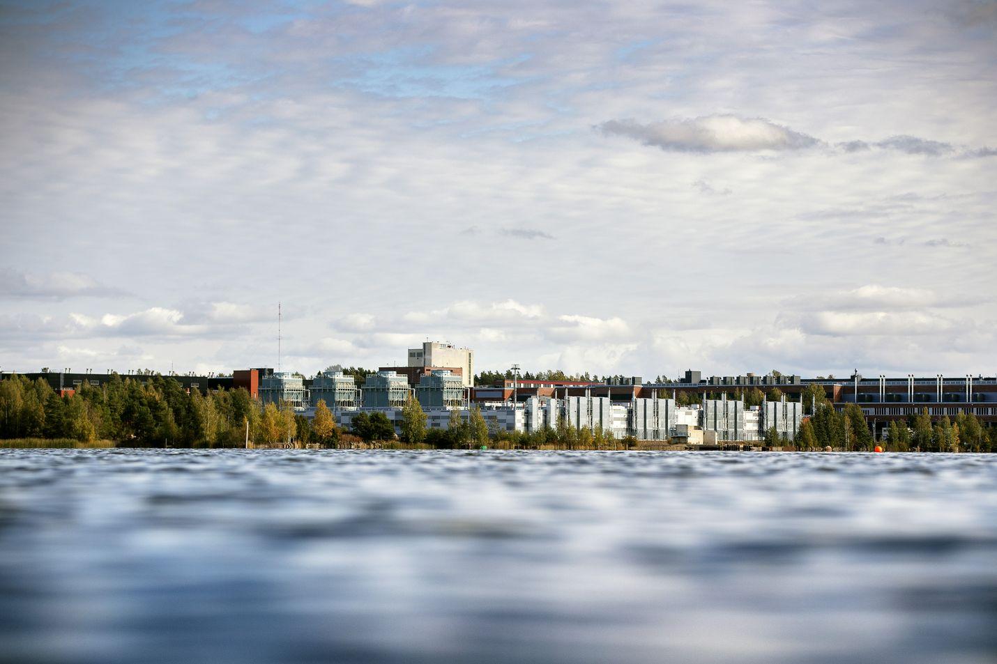 Googlen Haminan palvelinkeskus käyttää jäähdytyksessä merivettä. Jäähdytysjärjestelmä on yhtiön edistyneimpiä.