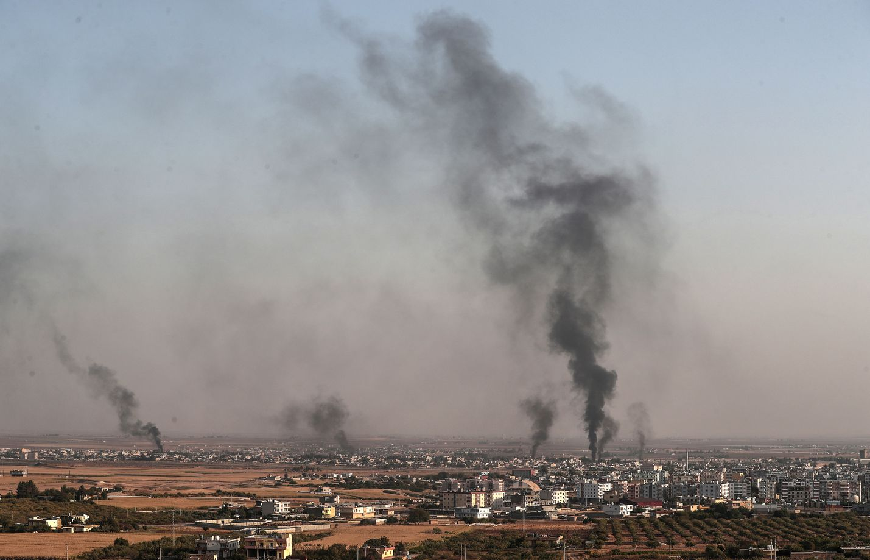 Turkki on pommittanut muun muassa Ras el-Einin kaupunkia Syyrian kurdialueella.