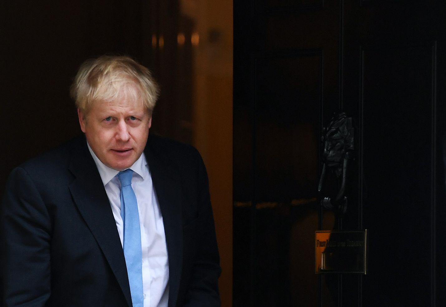 Britannian pääministeri Boris Johnson ilmoitti uudesta erosopimuksesta EU:n kanssa torstaina.