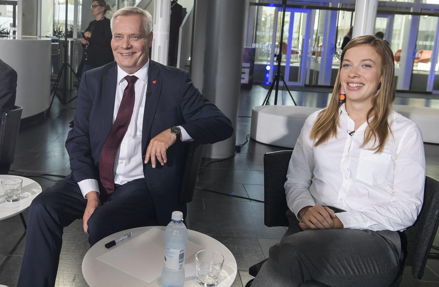 Puheenjohtajan imagolla on merkitystä puolueen kannatuksessa. Vasemmistoliiton puheenjohtaja Li Andersson valitaan uudelleen viikon päästä Kuopiossa ja sdp:n puheenjohtajan Antti Rinteen paikka on katkolla ensi kesäkuussa Tampereella.