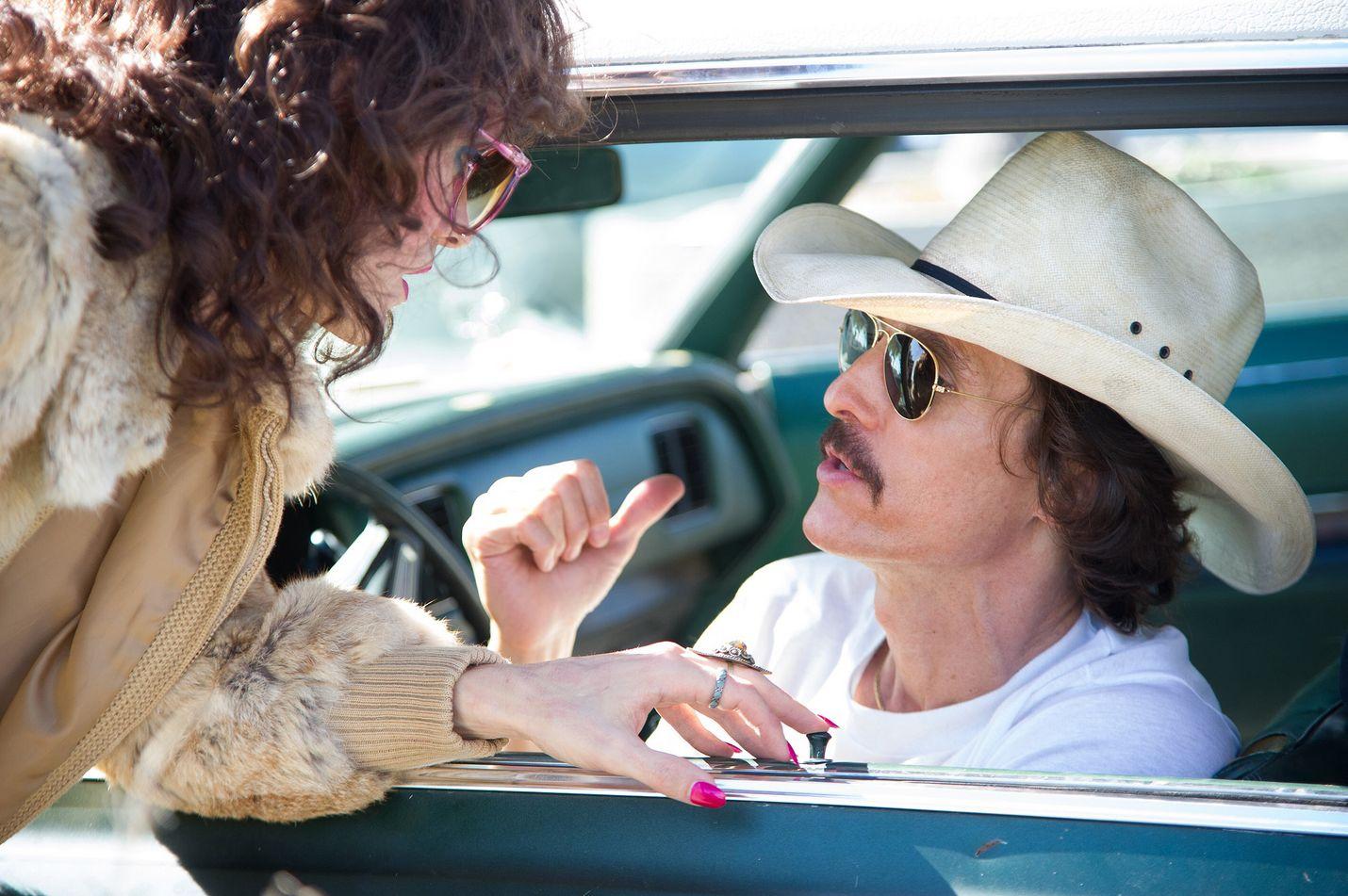 Dallas Buyers Club on tosipohjainen elokuva Ron Woodroofista (Matthew McConaughey).