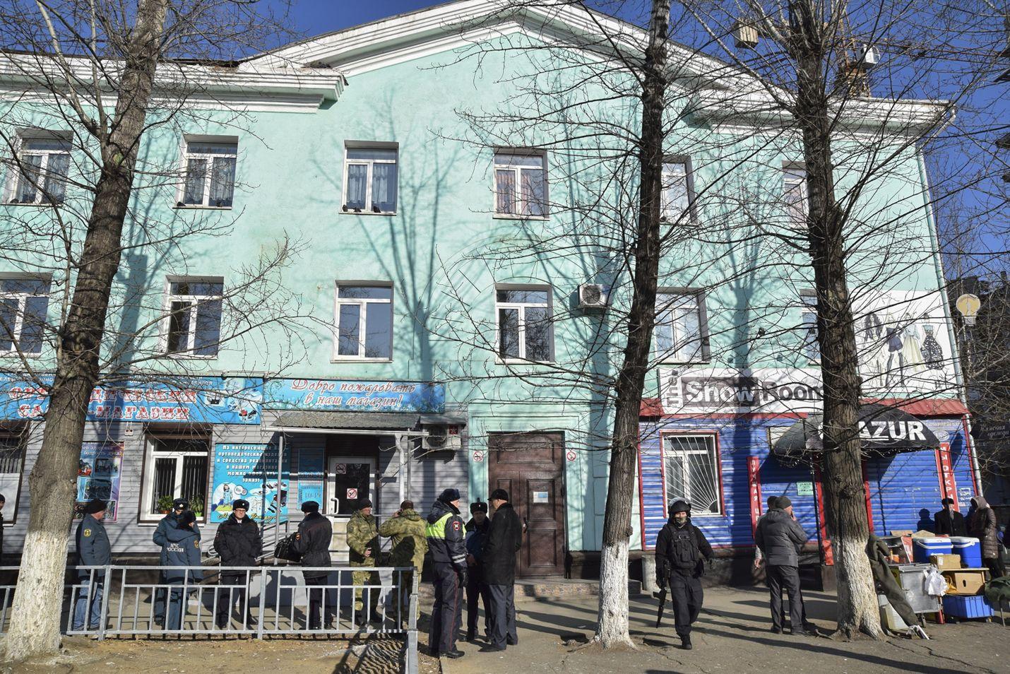 Koulusurma tapahtui ammatillisessa oppilaitoksessa Blagoveshtshenskin kaupungissa torstaina.