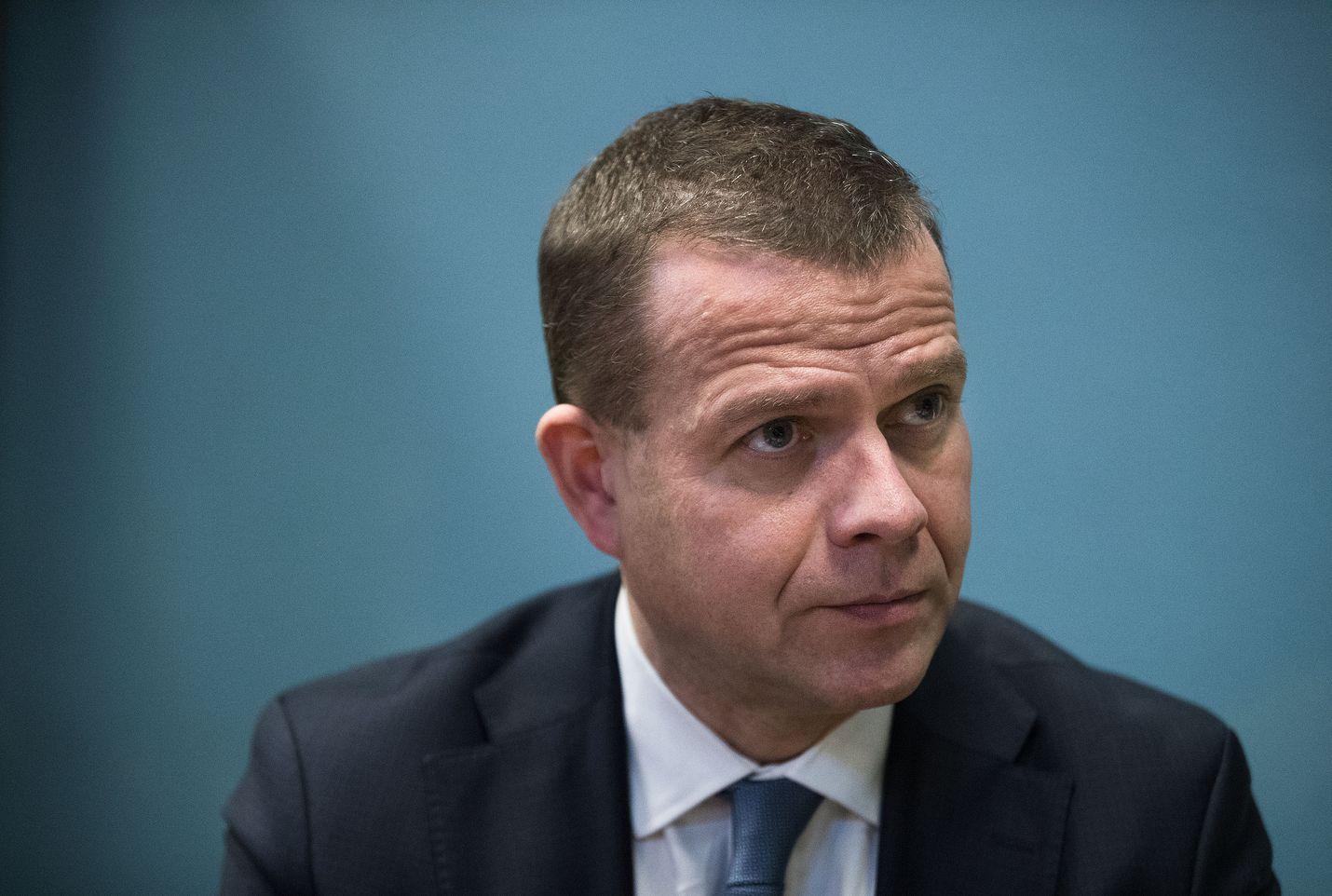 Kokoomuksen puheenjohtaja Petteri Orpo sai jo hyvissä ajoin ennen puoluekokousta Pohjoismaiden ja Baltian maiden puolueiden tuen ehdokkuudelleen. Arkistokuva.