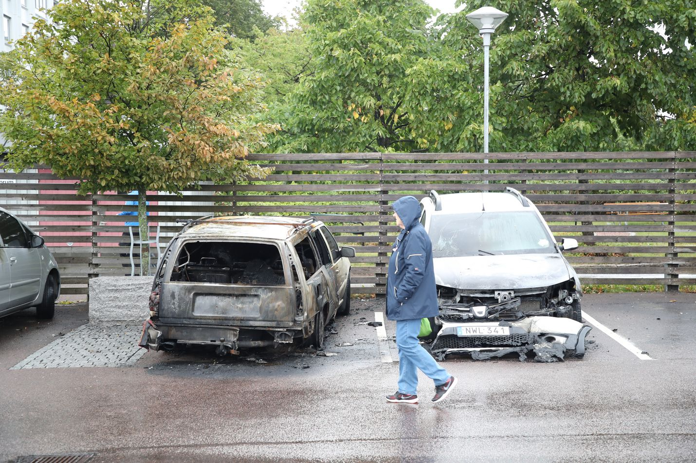 Göteborgissa paloi noin 70 autoa yhden illan ja yön aikana elokuussa 2018.