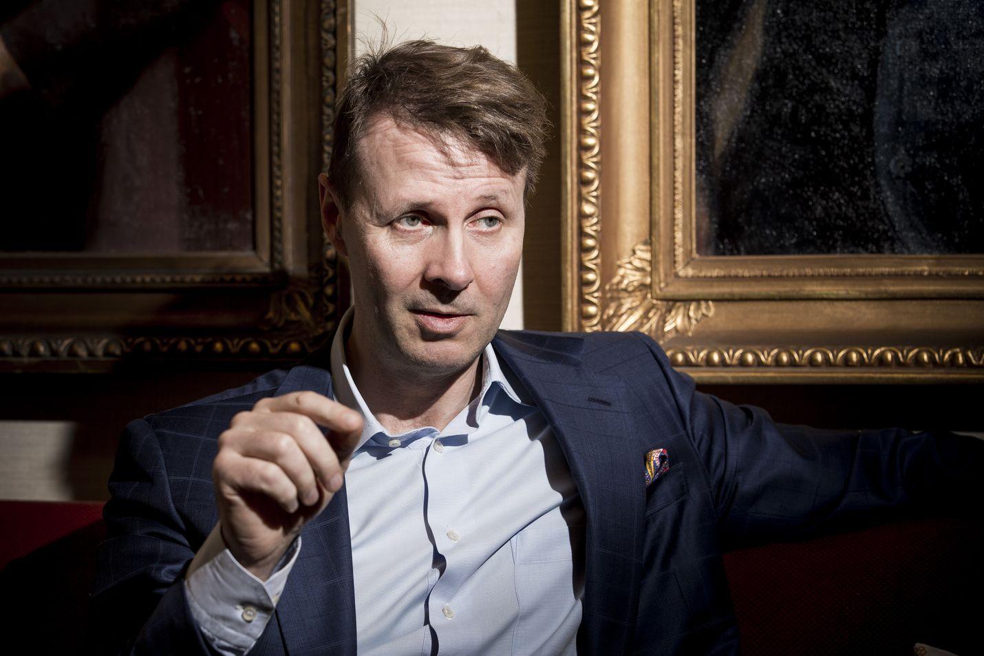 Risto Siilasmaa toimi Nokian väliaikaisena pääjohtajana vuodesta 2013 vuoteen 2014. Arkistokuva.