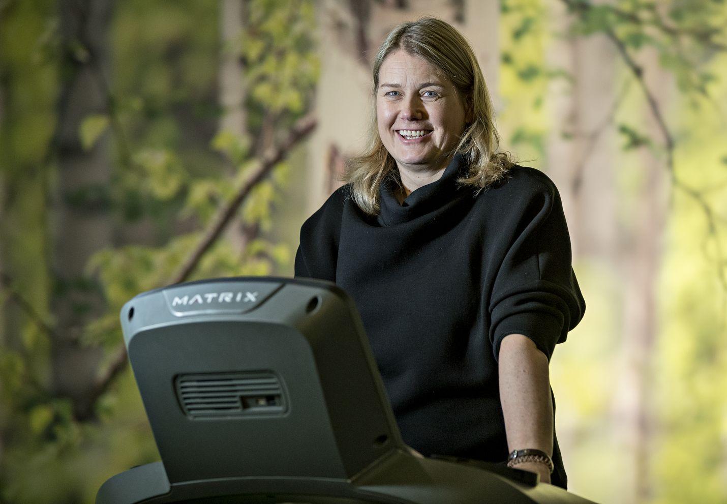 Budjettisaliketju Liikun perustaja, toimitusjohtaja Johanna Riihijärvi sanoo, että liikunta-alalla riittää tilaa uusille yrittäjille. Kasvua lisää ihmisen halu pitää omasta terveydestä parempaa huolta.