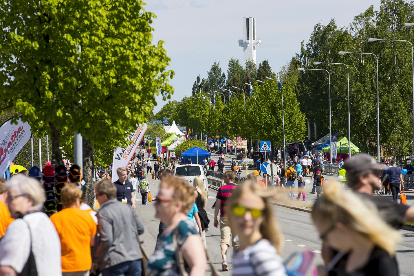 Seinäjoen Farmarin vierailijamäärä nousi kesällä 2017 lähes sataantuhanteen.