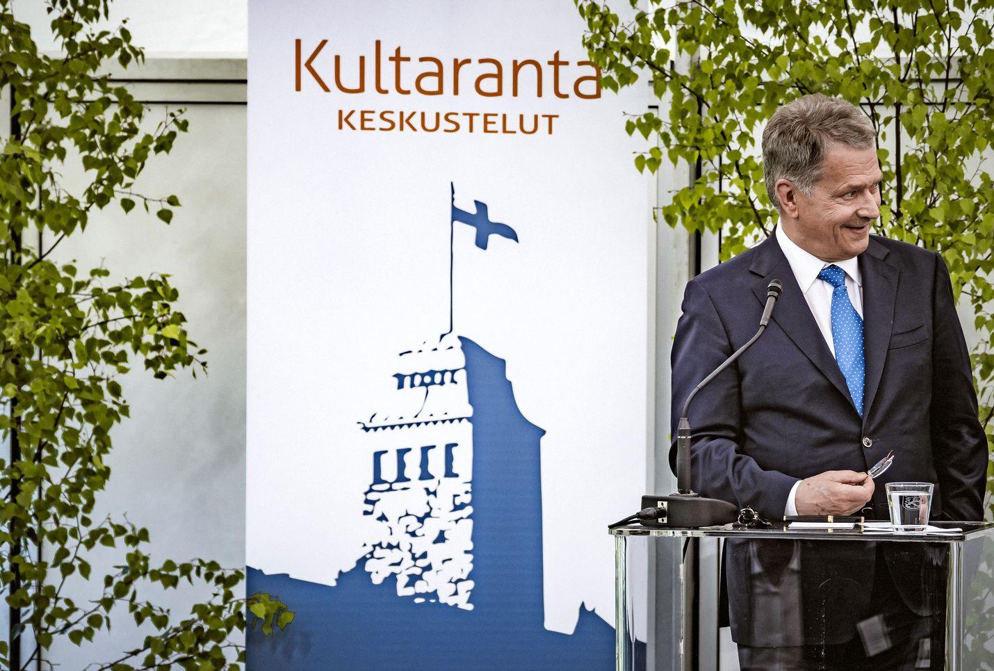 Tasavallan presidentti Sauli Niinistön järjestämät Kultaranta-keskustelut pidetään ensi kesänä virtuaalisesti.