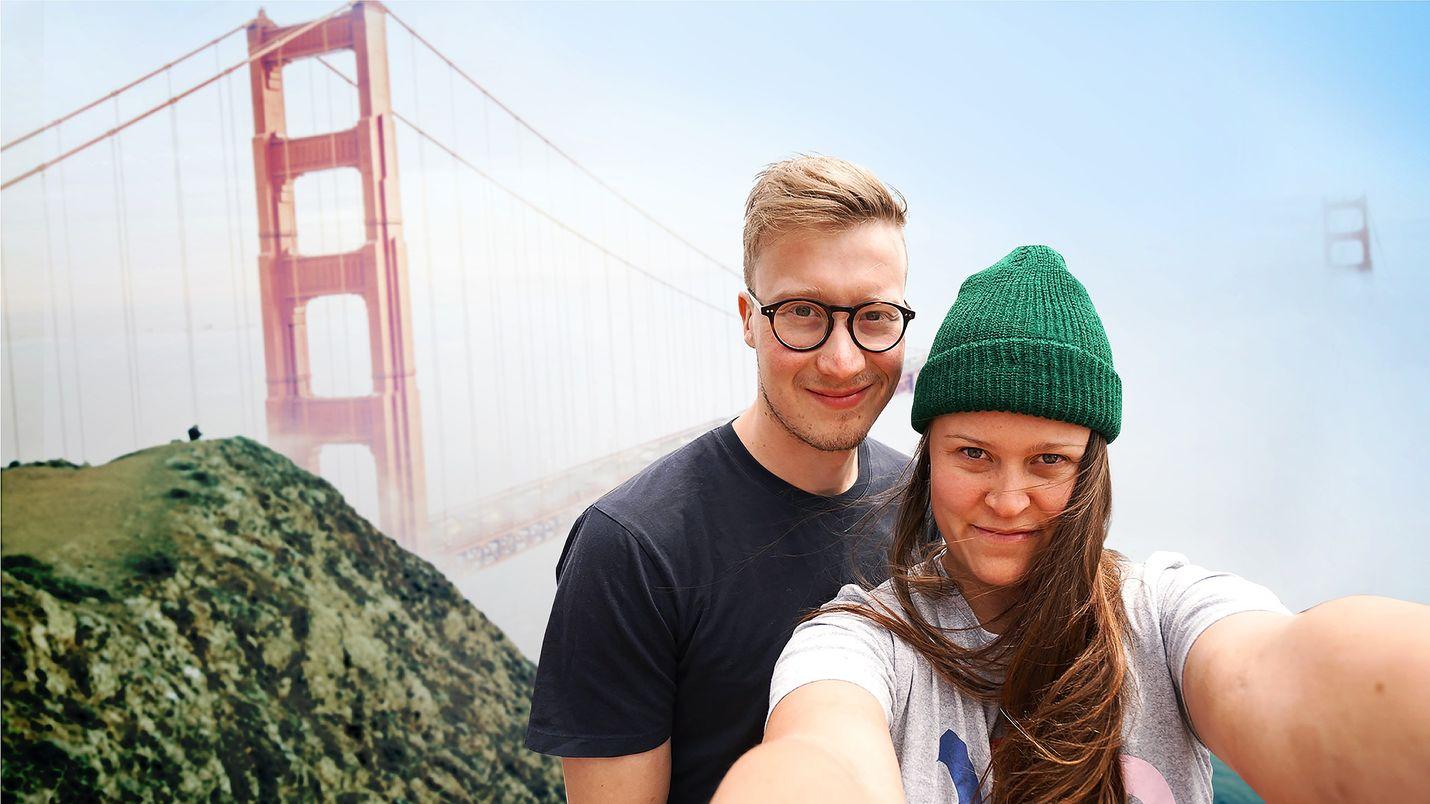Nuori startup-yrittäjä Kalle lähtee valloittamaan maailmaa pikakahvilla. Mukana on tyttöystävä, dokumenttielokuvan ohjaaja Erika Haavisto.