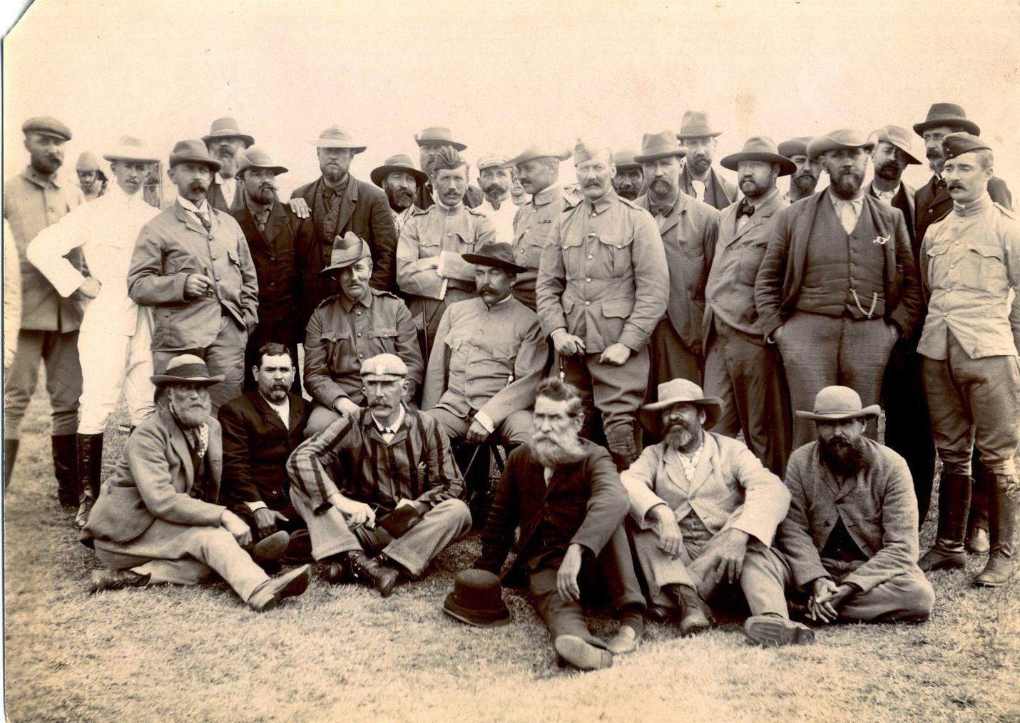 Näistä Etelä-Afrikassa käydyn toisen buurisodan sotavangeista suurin osa laivattiin St Helenalle.