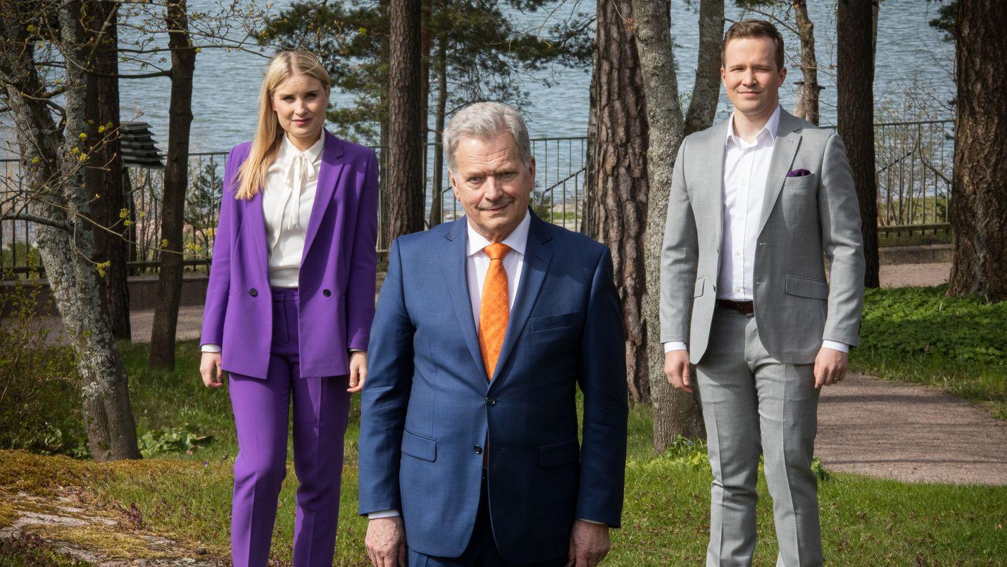 Tasavallan presidentti Sauli Niinistö isännöi Kultaranta-keskusteluja. Lähetyksen juontavat Rosa Kettumäki ja Antti Sahlström.