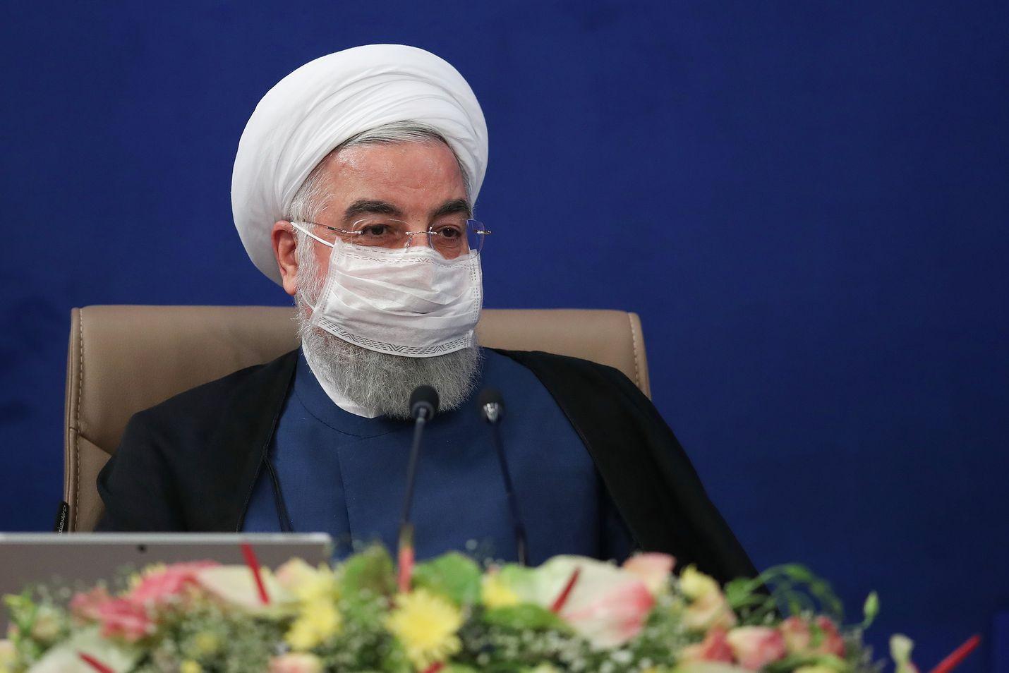 Iranin presidentti Hassan Ruhani vaatii väliaikaista kieltoa häille ja muille isoille juhlille.
