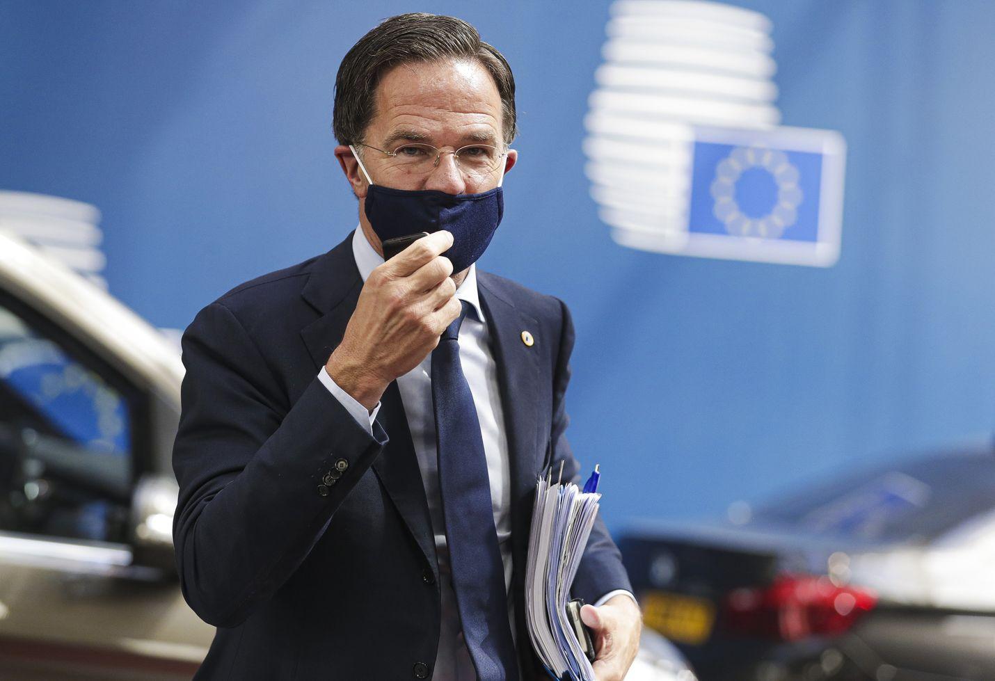 Hollannin pääministeri Mark Rutte on ollut kokouksessa näkyvin aiemman tukipakettiesityksen vastustaja. Hänkin oli maanantaina kuitenkin jo tyytyväinen neuvottelujen edistymiseen.