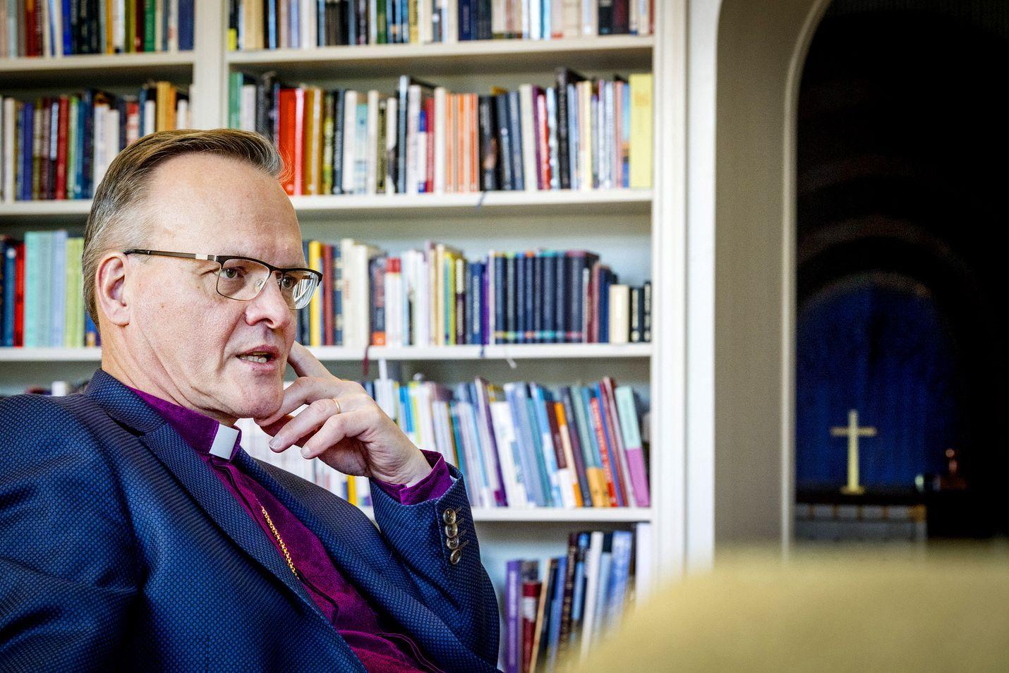 Piispainkokous käsitteli kirkossa vallitsevaa erimielisyyttä avioliittokäsityksestä kokouksessaan torstaina. Arkistokuvassa arkkipiispa Tapio Luoma.