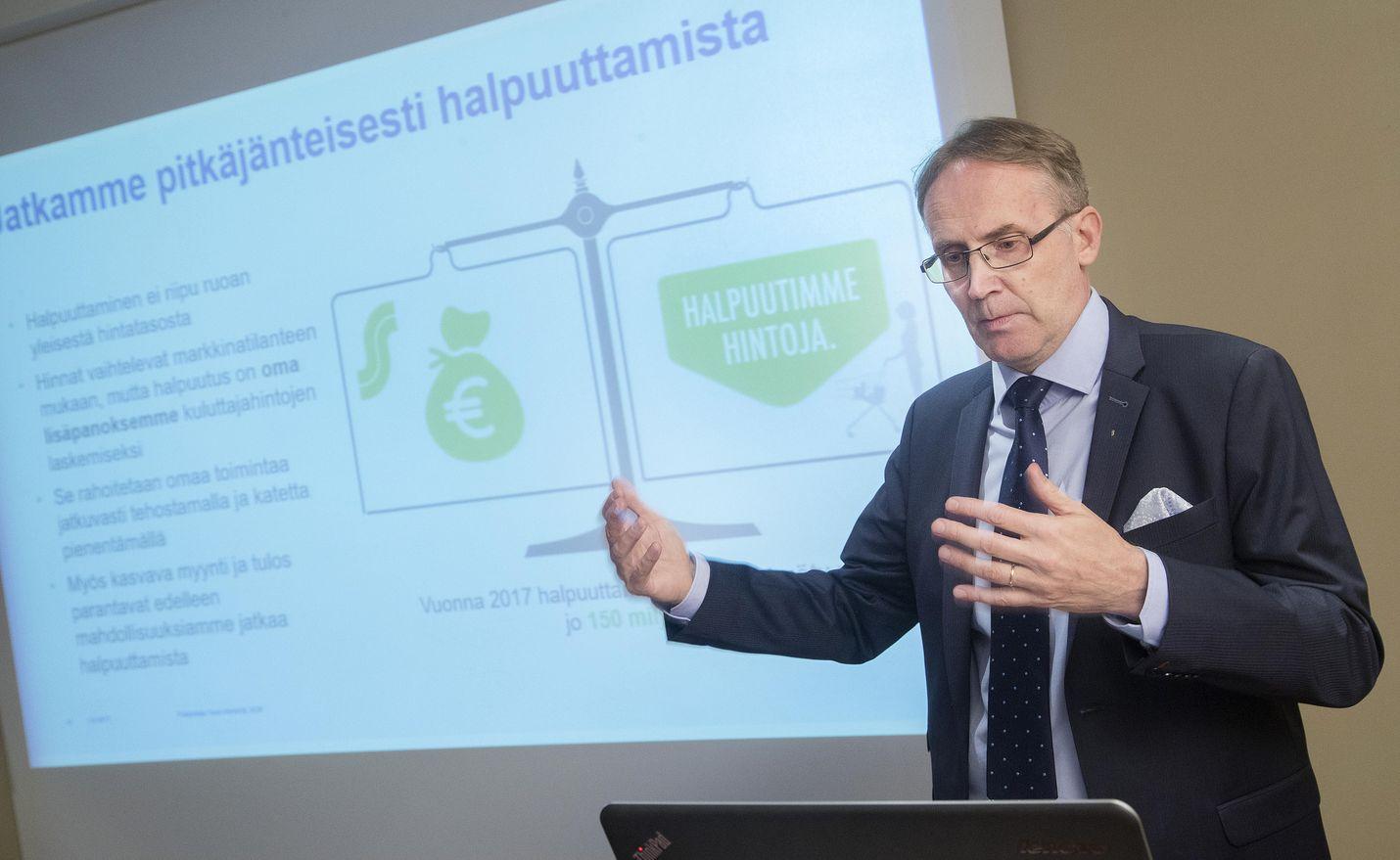 SOK:n pääjohtaja Taavi Heikkilä toivoo, että turvakäytännöt riittävät eikä koronakriisi aiheuta enää liiketoiminnan rajoituksia.