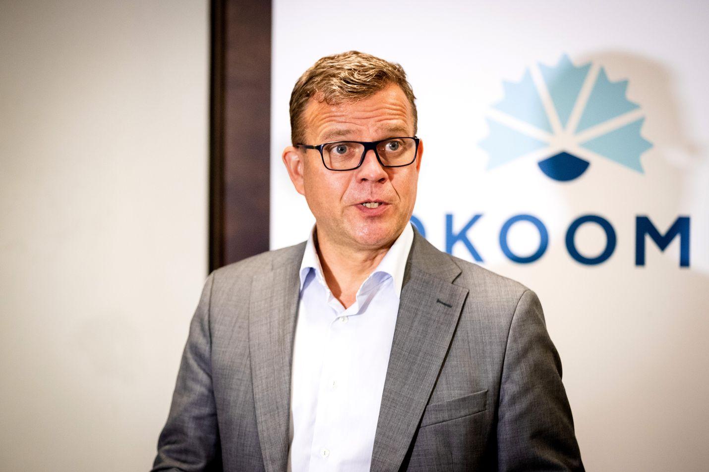 Petteri Orpon mukaan Suomella ei ole varaa budjettiriiheen, jossa välttämättömiä päätöksiä siirretään eteenpäin. Arkistokuva.