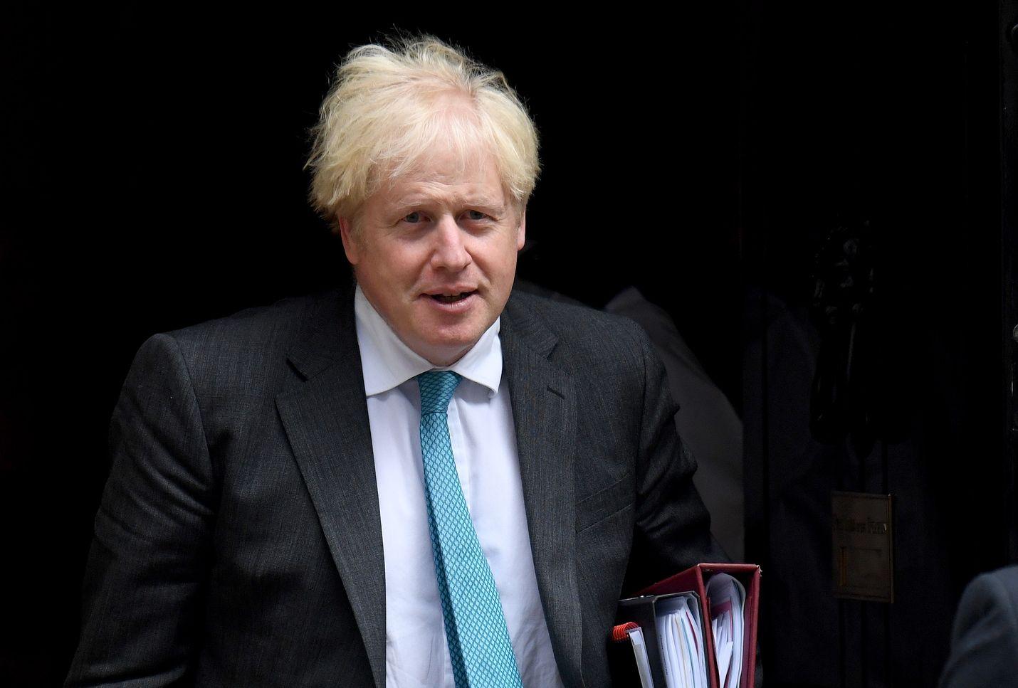 Johnsonin mukaan sisämarkkinalaki on ainoa tapa varmistaa Britannialle suotuisa kaupankäynti.
