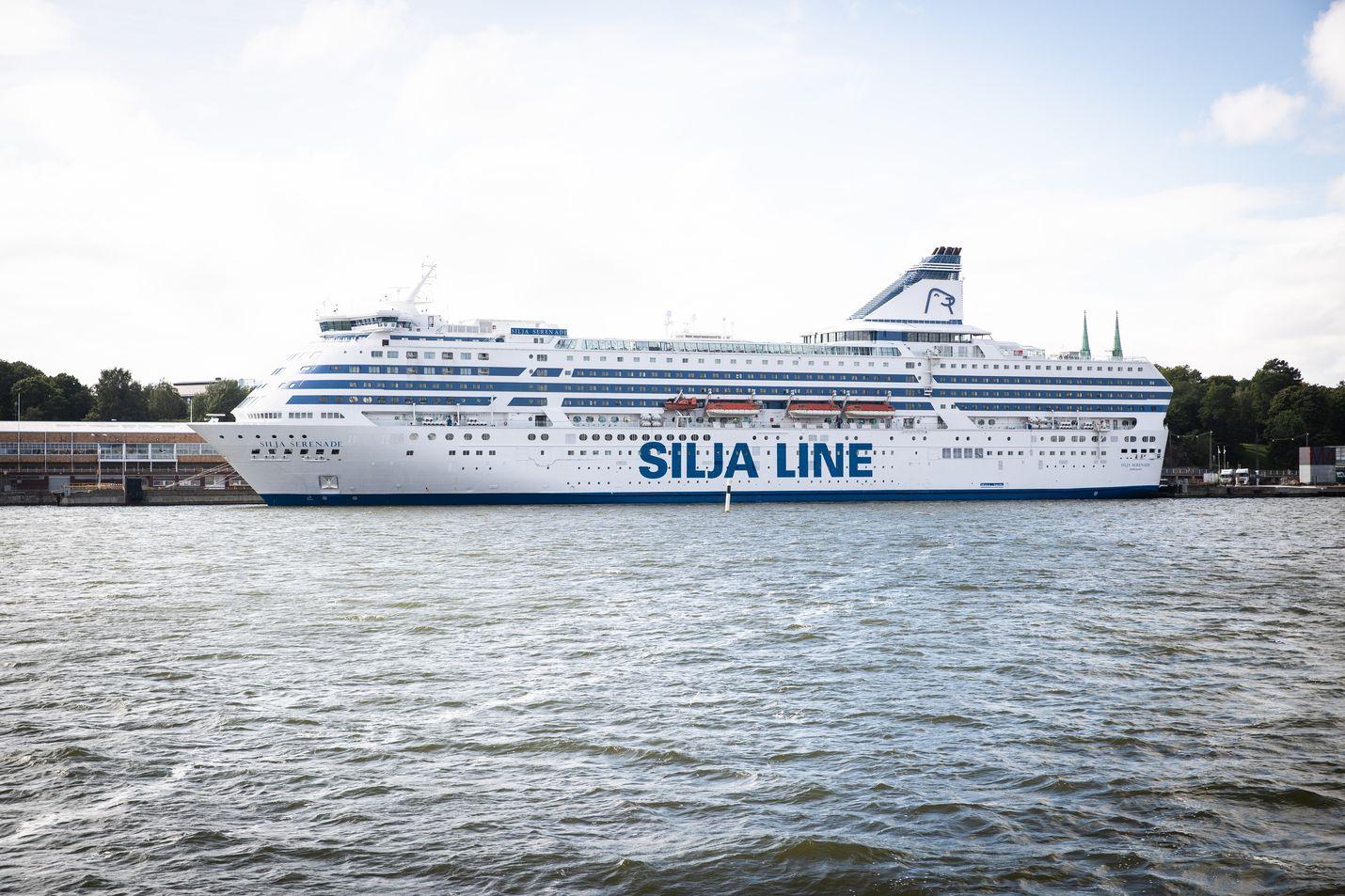 Silja Serenade liikennöi kesällä Helsingin ja Riian välillä.