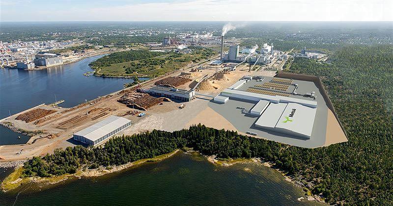 Metsä Fibre rakentaa Raumalle maailman moderneimmaksi mainitun sahan.