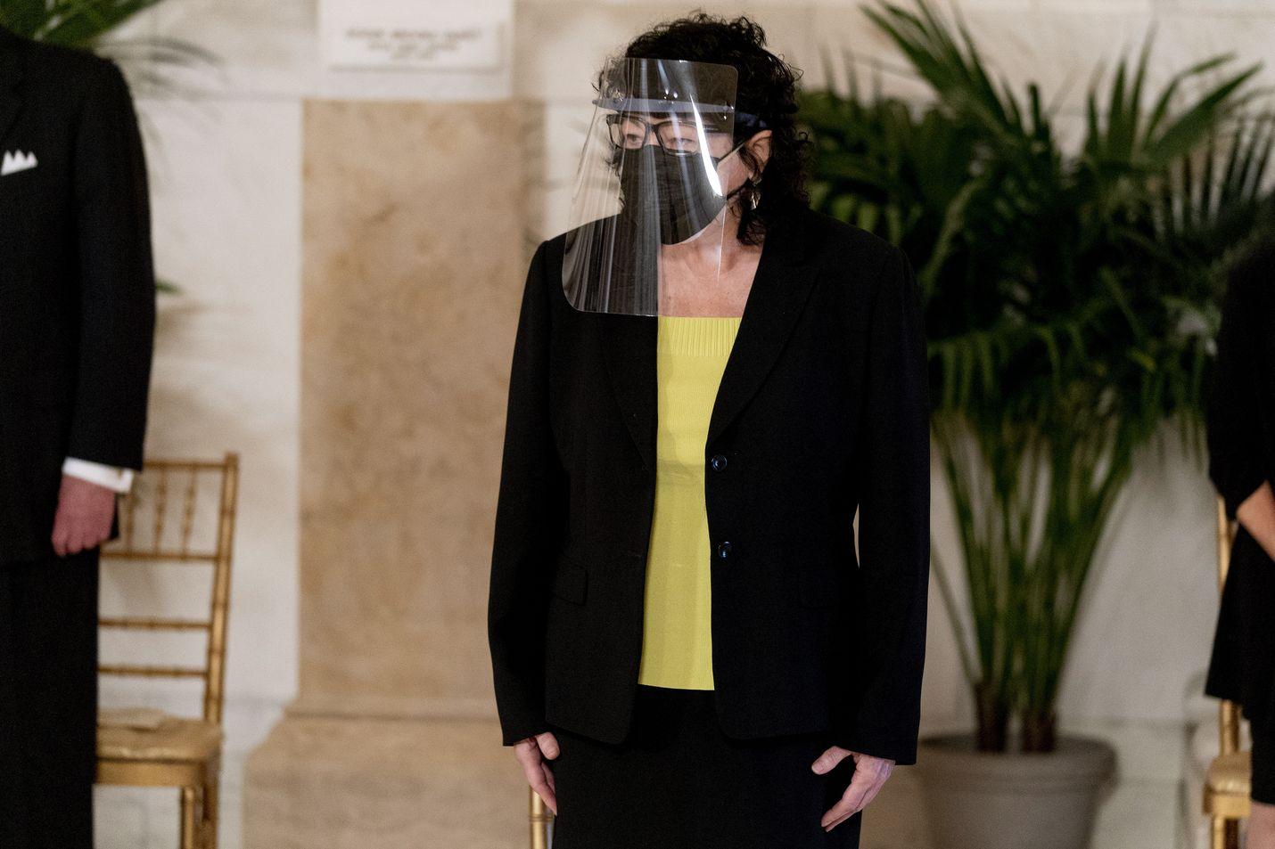 Tuomari Sonia Sotomayor ilmaisi eriävän mielipiteensä korkeimman oikeuden väestönlaskentaa koskevaan päätökseen.