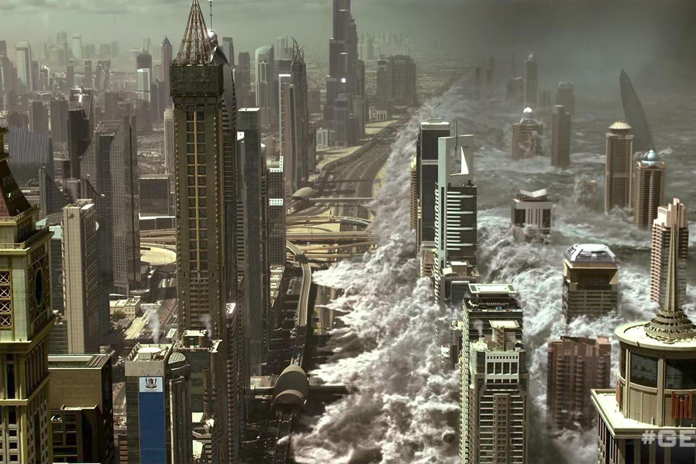 Maata suojeleva sääjärjestelmä on joutumassa vääriin käsiin Geostorm-elokuvassa.