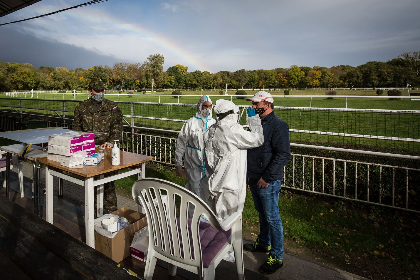 Slovakiassa on käynnissä koronaviruksen massatestaus.