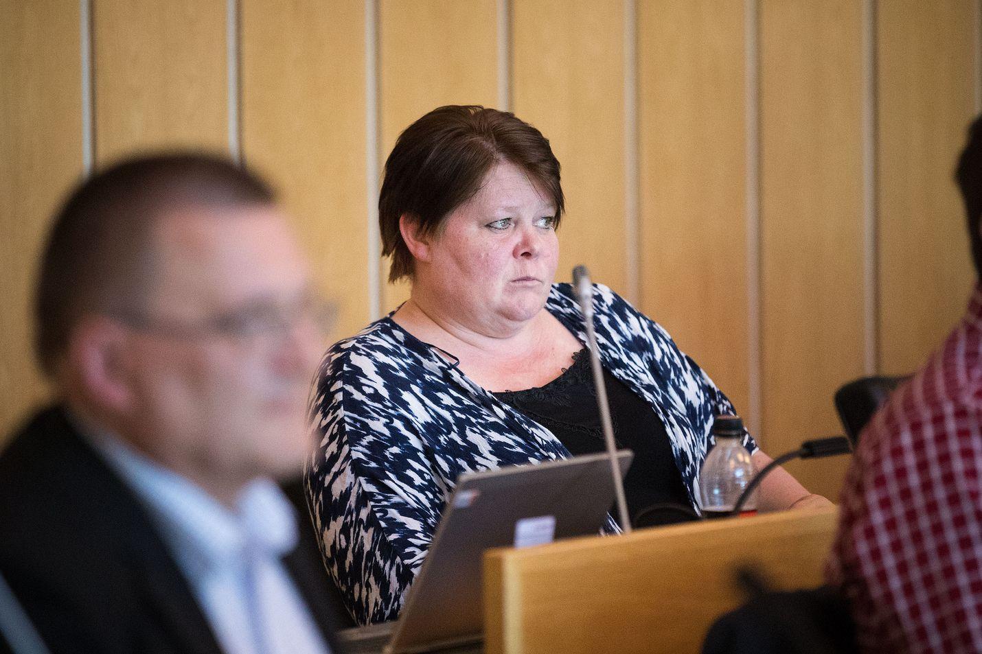 Tamperelainen Terhi Kiemunki on yksi uuden puolueen puuhanaisista. Hänet erotettiin perussuomalaisista vuonna 2017.